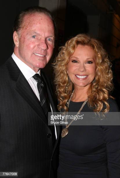 """Frank Gifford and Kathie Lee Gifford attend the opening night of """"Cyrano"""" on Broadway at The Richard Rodgers Theater November 1, 2007 in New York..."""