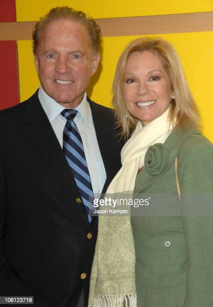 Frank Gifford and Kathie Lee Gifford during 10th Anniversary Rededication Ceremony Of 'Cassidy's Place' October 24 2006 at 'Cassidy's Place' 419 East...