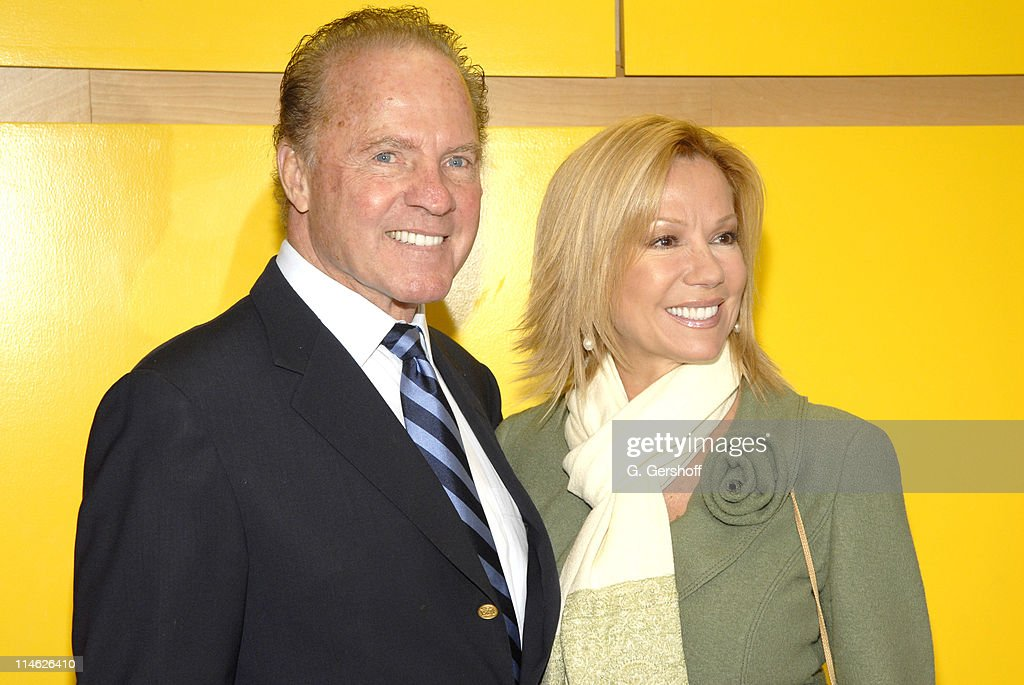 Kathie Lee Gifford and Frank Gifford Celebrate the Rededication of Cassidy's Place : ニュース写真