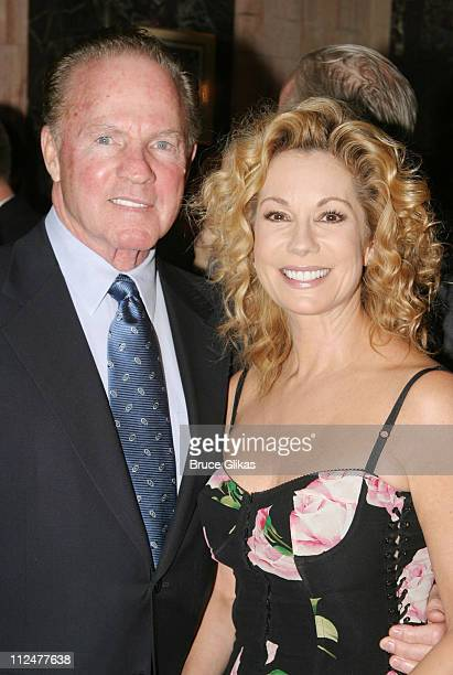Frank Gifford and Kathie Lee Gifford during Opening Night of 'The Boy From Oz' Arrivals and After Party at The Imperial Theater and Copacabana...