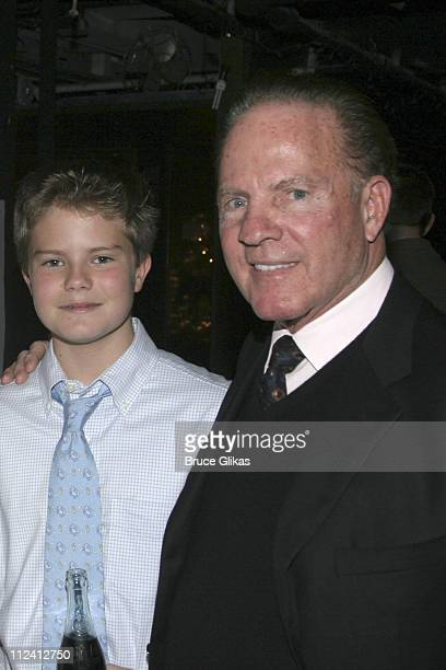 Frank Gifford and son Cody Gifford during Kathie Lee Gifford's New Musical 'Under The Bridge' Opening Night Afterparty at The Zipper Theater in New...