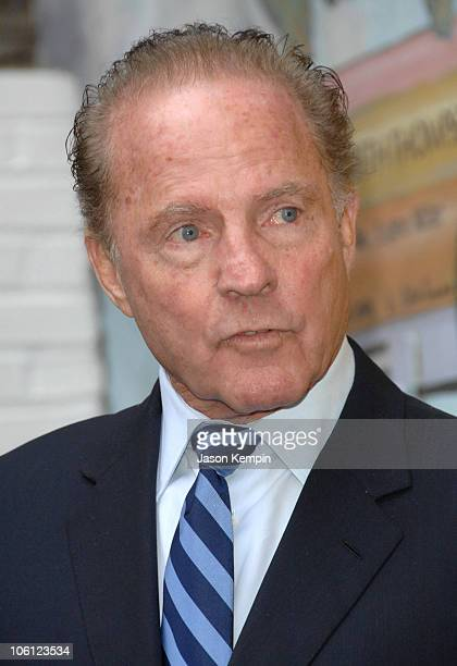 Frank Gifford during 10th Anniversary Rededication Ceremony Of 'Cassidy's Place' October 24 2006 at 'Cassidy's Place' 419 East 86th Street in New...