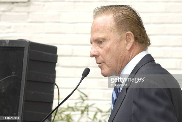 Frank Gifford during Kathie Lee Gifford and Frank Gifford Celebrate The Rededication of Cassidy's Place at Cassidy's Place in New York New York...