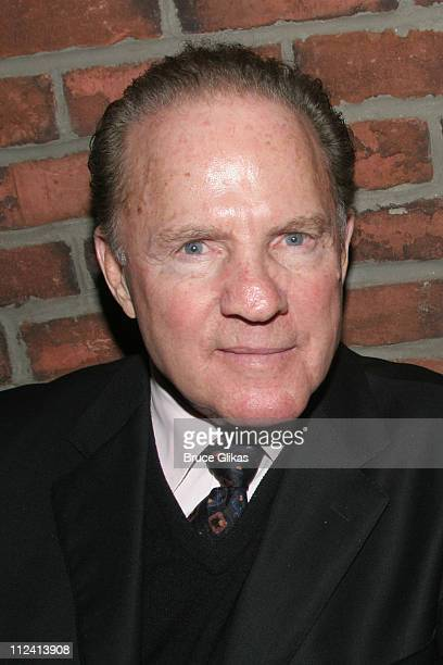 Frank Gifford during Kathie Lee Gifford's New Musical 'Under The Bridge' Opening Night Afterparty at The Zipper Theater in New York New York United...
