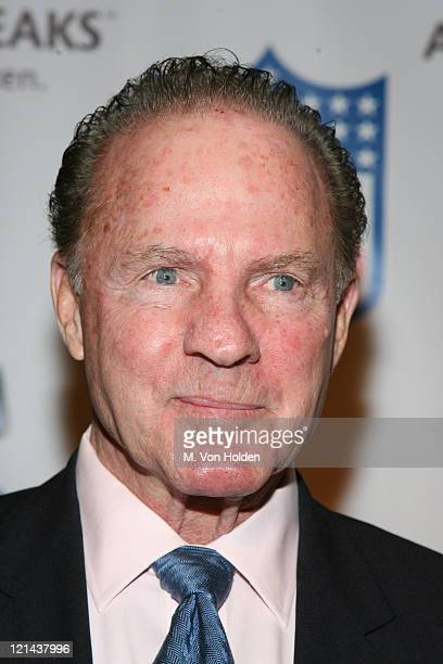 Frank Gifford during NFL and The Gillen Brewer Company held the 'Kick off for a Cure' Benefit for Autism Speaks at Waldorf Astoria in New York New...