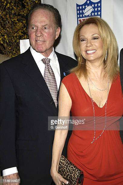 Frank Gifford honoree and Kathie Lee Gifford during Kickoff for a Cure II Benefit Gala at The Waldorf=Astoria in New York City New York United States
