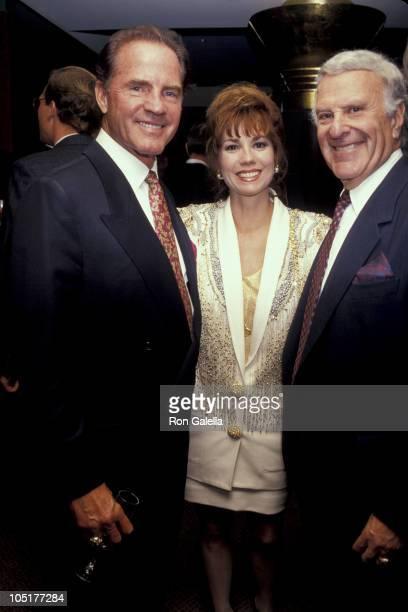 Frank Gifford, Kathie Lee Gifford, and Preston Robert Tisch