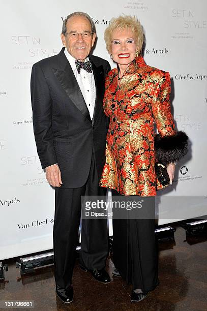 Frank Goldberg and Lee Goldberg attend the Set in Style: The Jewelry of Van Cleef & Arpels opening gala at the Cooper-Hewitt, National Design Museum...