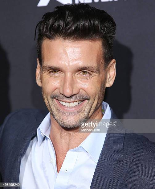 Frank Grillo arrives at the Los Angeles premiere of 'Kingdom' held at Muscle Beach on October 1 2014 in Venice California