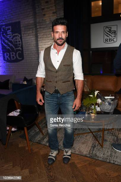 Frank Grillo attends RBC hosted Donnybrook cocktail party at RBC House Toronto Film Festival on September 7 2018 in Toronto Canada