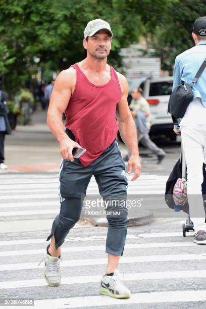 Frank Grillo seen out and about in Manhattan on June 13 2018 in New York City