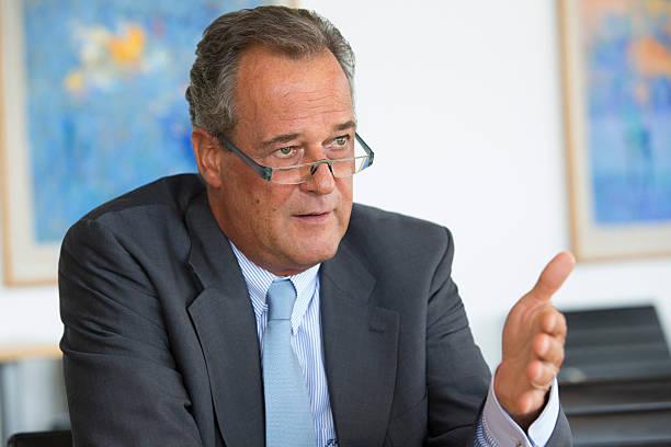 photos et images de krauss maffei wegmann gmbh chief executive officer frank haun interview. Black Bedroom Furniture Sets. Home Design Ideas
