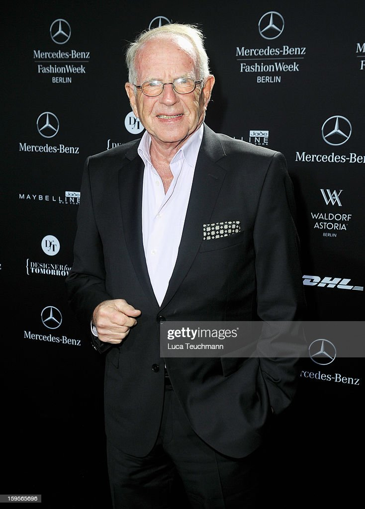 Frank Henke attends Blacky Dress Autumn/Winter 2013/14 fashion show during Mercedes-Benz Fashion Week Berlin at Brandenburg Gate on January 16, 2013 in Berlin, Germany.