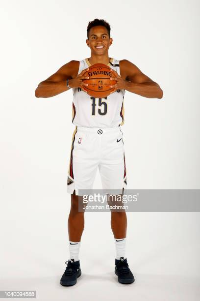 Frank Jackson of the New Orleans Pelicans poses for a portrait during the 2018 NBA Media Day on September 24 2018 at the Ochsner Sports Performance...