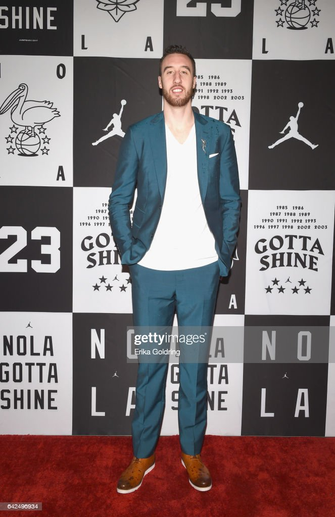 Frank Kaminsky of Charlotte Hornets attends Jordan Brand: 2017 All-Star Party at Seven Three Distilling Co. on February 17, 2017 in New Orleans, Louisiana.