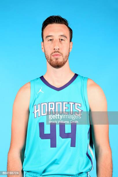 Frank Kaminsky of the Charlotte Hornets poses for a head shot during media day at Spectrum Center in Charlotte North Carolina NOTE TO USER User...