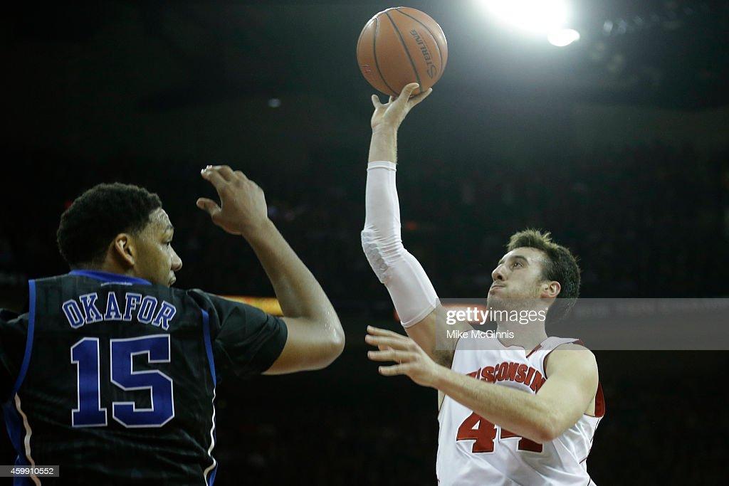 Duke v Wisconsin : News Photo