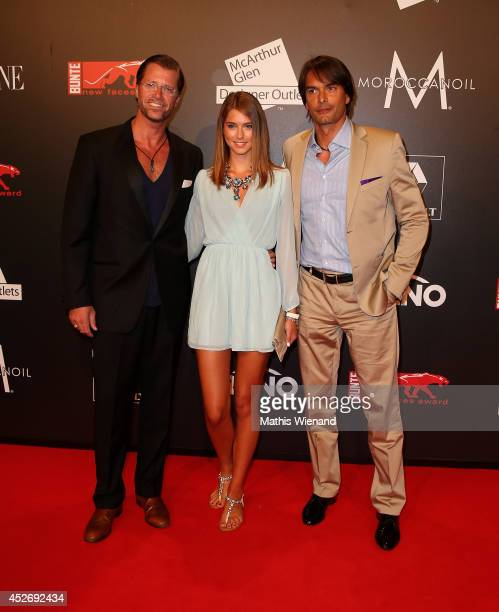Frank Kuhlmann Guest and Marcus Schenkenberg attend the New Faces Award Fashion 2014 on July 25 2014 in Duesseldorf Germany