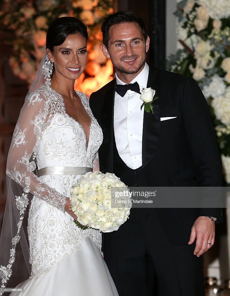 Frank Lampard And Christine Bleakley Leave After Getting Married On December 20 2017 In London