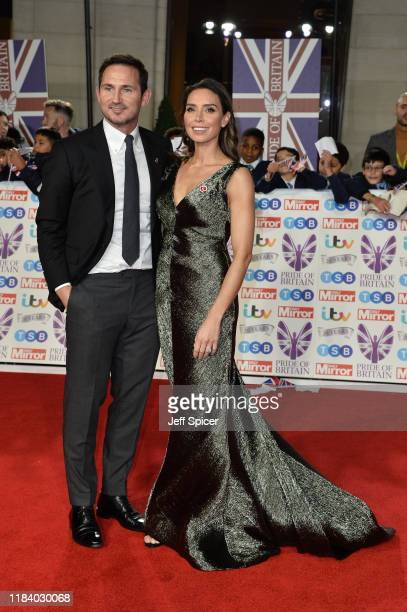 Frank Lampard and Christine Lampard attend Pride Of Britain Awards 2019 at The Grosvenor House Hotel on October 28 2019 in London England