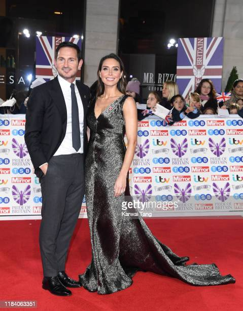 Frank Lampard and Christine Lampard attend the Pride Of Britain Awards 2019 at The Grosvenor House Hotel on October 28 2019 in London England