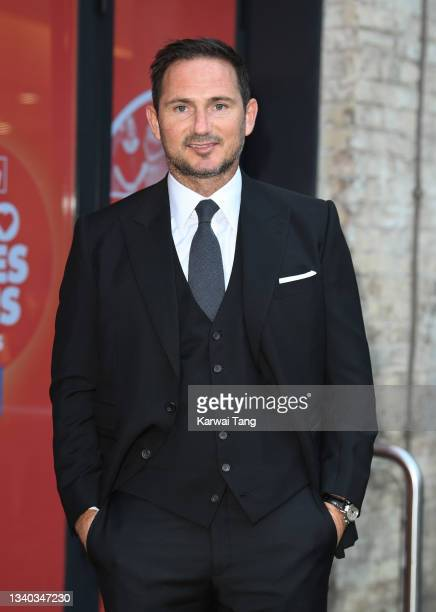 Frank Lampard attends the Sun's Who Cares Wins Awards 2021 at The Roundhouse on September 14, 2021 in London, England.