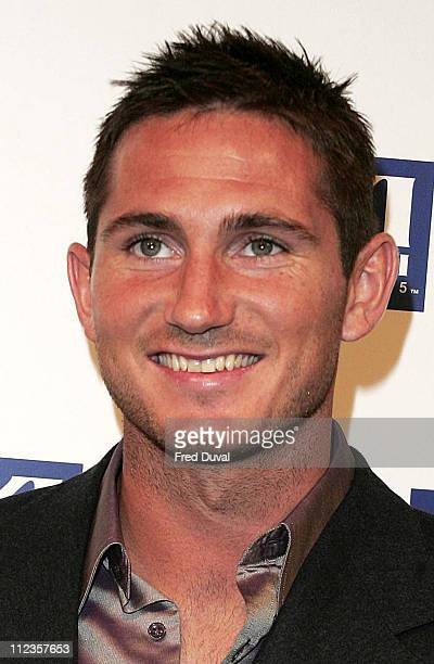 Frank Lampard during FIFPRO World XI Player Awards at Wembley Conference Centre in London Great Britain