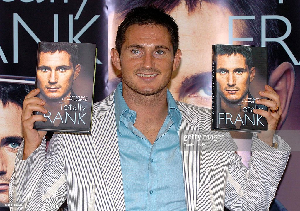 "Frank Lampard's ""Totally Frank"" Book Launch at the Conrad Hotel - August 17,"