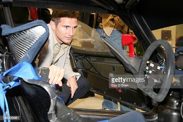Frank Lampard during Jo Macari's Ferrari and Maserati Servicing Centre Launch May 4 2007 in London Great Britain