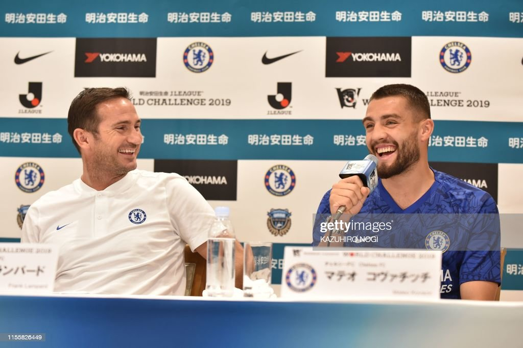 FBL-ENG-PR-JPN-Chelsea : News Photo