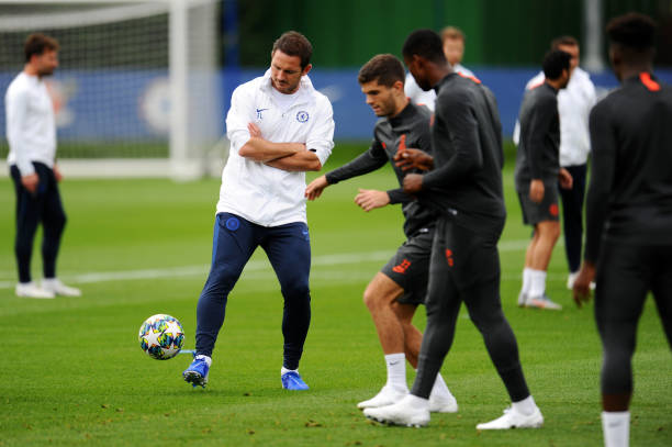 Chelsea FC Open Training Session and Press Conference