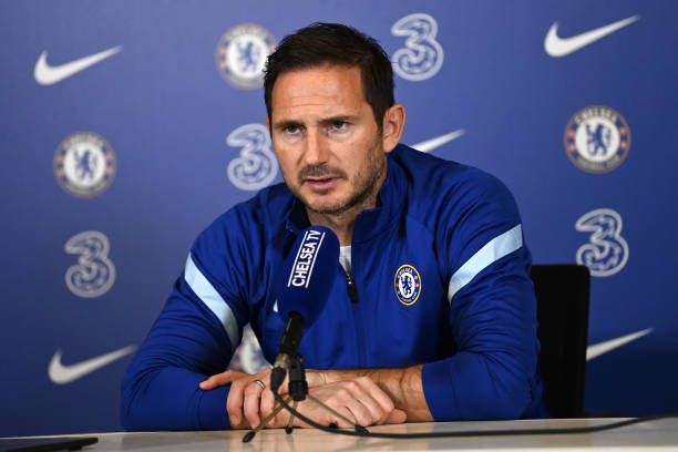 GBR: Chelsea Training and Press Confernece