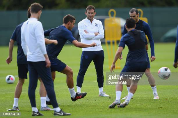 Frank Lampard of Chelsea during a training session at Carton House on July 5 2019 in Maynooth Ireland