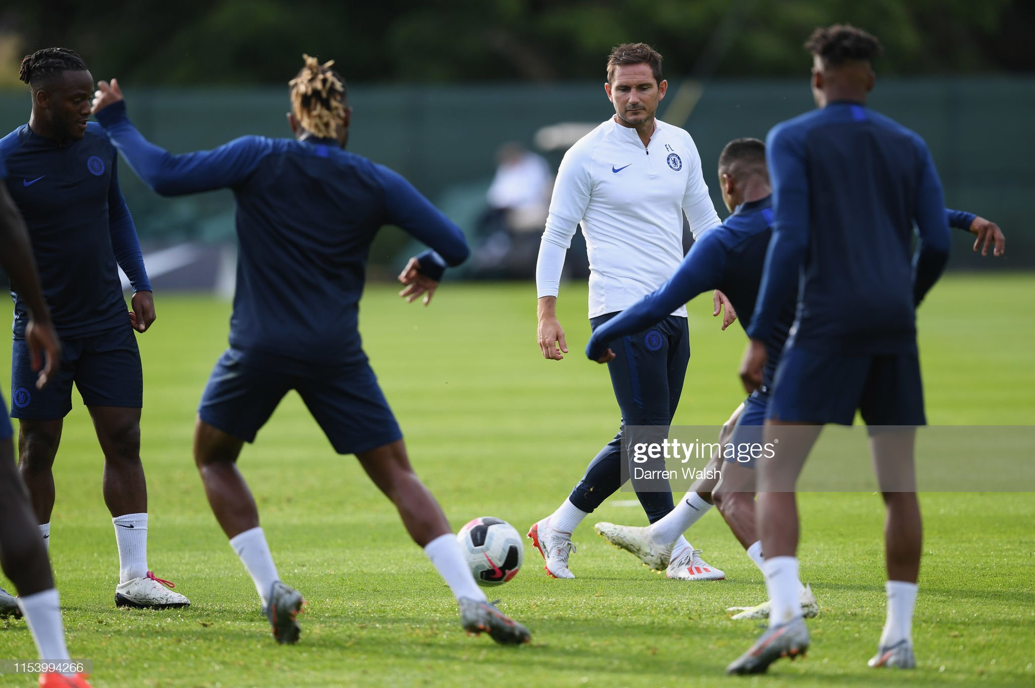 Chelsea Pre-Season Training Session : News Photo