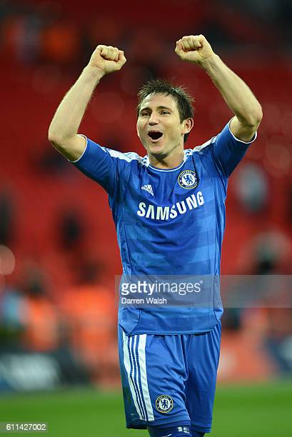 Frank Lampard of Chelsea during the FA Cup with Budweiser Semi Final match between Tottenham Hotspur and Chelsea at Wembley Stadium on April 15 2012...