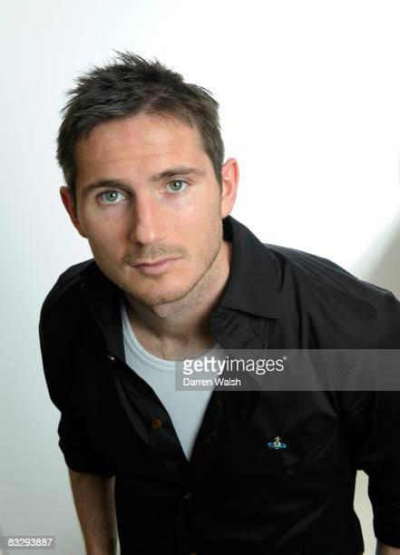 Frank Lampard of Chelsea poses for a feature at Chelsea FC training ground on April 11, 2008 in Cobham, United Kingdom