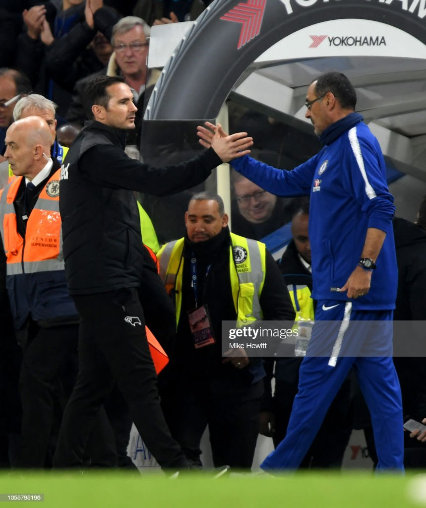 Chelsea v Derby County - Carabao Cup Fourth Round : Photo d'actualité