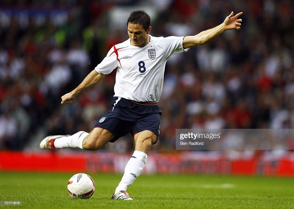 Euro2008 Qualifier: England v Macedonia : News Photo