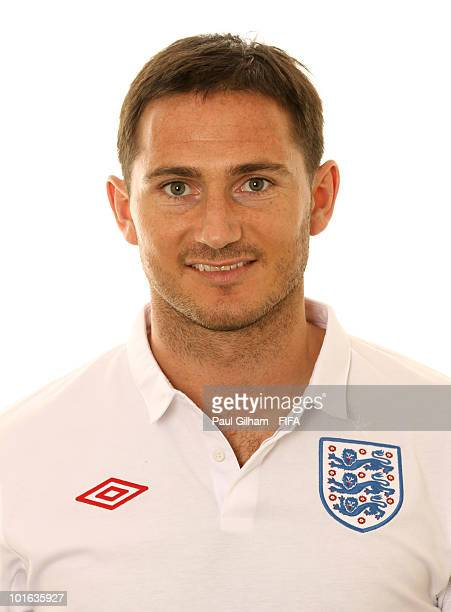Frank Lampard of England poses during the official FIFA World Cup 2010 portrait session on June 4 2010 in Rustenburg South Africa