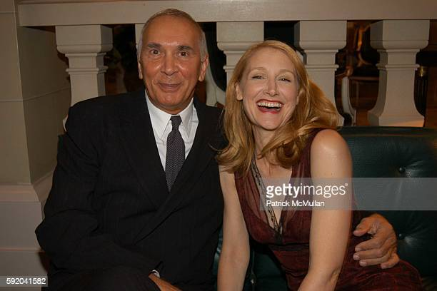 Frank Langella and Patricia Clarkson attend Walter Cronkite Hosts a Private Screening of Warner Independent Pictures' Good Night And Good Luck...