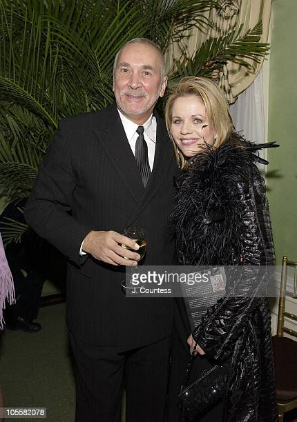Frank Langella and Renee Fleming during Renee Fleming Book Release Party 'The Inner Voice The Making of a Singer' at The Georgian Suite in New York...