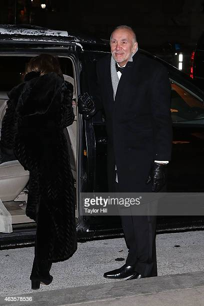 Frank Langella attends the Saturday Night Live 40th Anniversary Celebration After Party at The Plaza Hotel on February 15 2015 in New York City