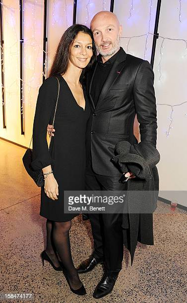 Frank Leboeuf attends a drinks reception celebrating the UK Film Premiere of 'The Double' at Jack Jones Oxford Street on December 17 2012 in London...