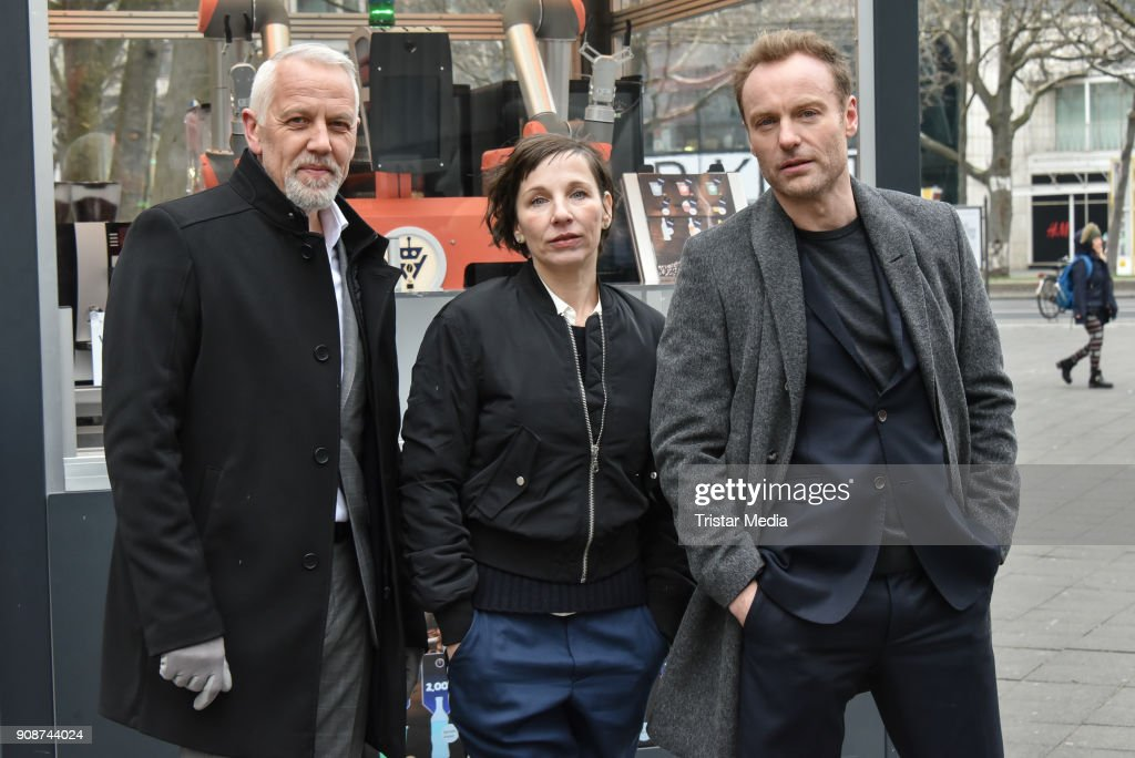 Tatort On Set Photo Call In Berlin
