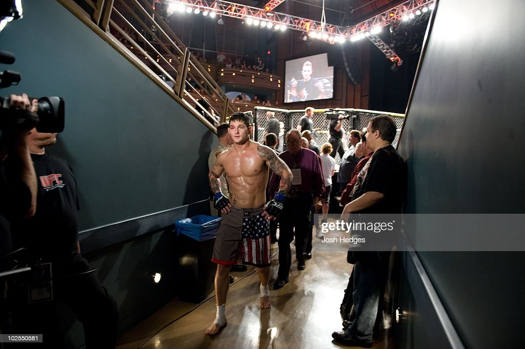 Frank Lester during The Ultimate Fighter 9 Finale at The Pearl at the Palms on June 20, 2009 in Las Vegas, Nevada.