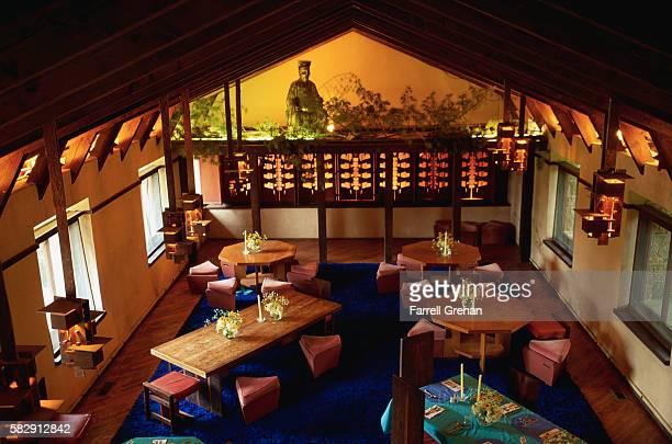 Frank Lloyd Wright Designed Restaurant