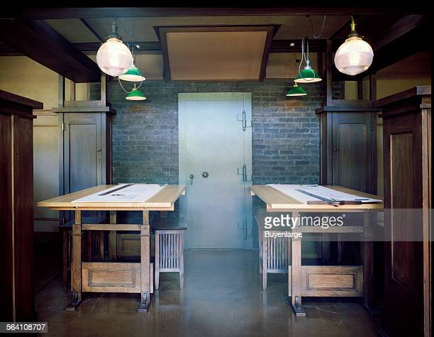 Frank Lloyd Wright studio at the Robie House in Chicago Illinois