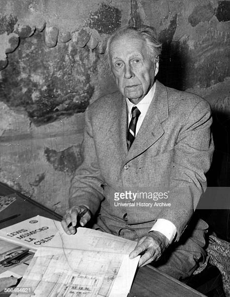Frank Lloyd Wright was an American architect