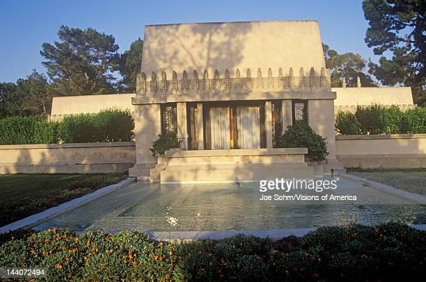 Frank Lloyd Wright's Hollyhock House Los Angeles California