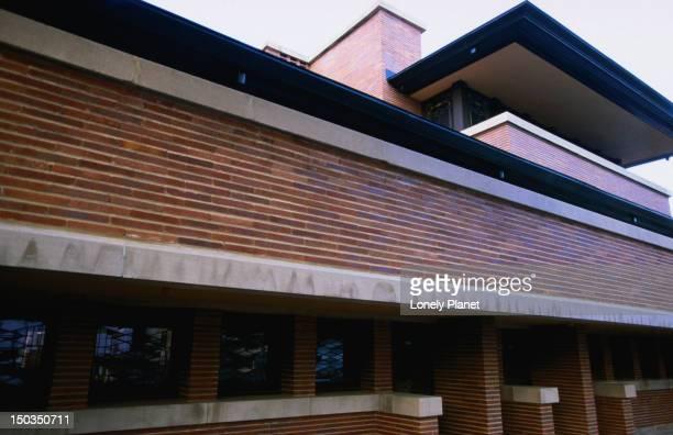 Frank Lloyd Wright's Robie House.